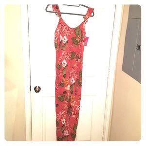 Womens floral jumpsuit